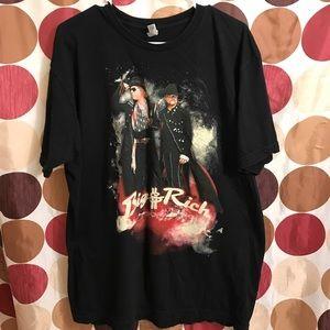 Big & Rich 2012 Concert Tour T-Shirt Men's 2XL